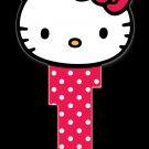 Key Blanks: Key Blank SR11 - Hello Kitty Head Shape- Kwikset