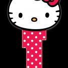 Key Blanks: Key Blank SR11 - Hello Kitty Head Shape- Schlage
