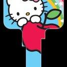 Key Blanks: Key Blank SR4 - Hello Kitty Blue- Kwikset
