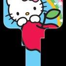 Key Blanks: Key Blank SR4 - Hello Kitty Blue- Schlage