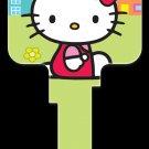 Key Blanks: Key Blank SR5 - Hello Kitty Green- Kwikset