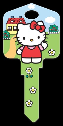 Key Blanks: Key Blank SR6 - Hello Kitty's House- Weiser