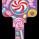 Key Blanks: Key Blank PG3 - Sweet As Candy- Weiser