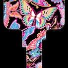 Key Blanks: Key Blank PG5 - Butterflies- Schlage