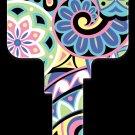 Key Blanks: Key Blank PG7 - Pinwheels- Kwikset
