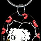 Key Chains: Key Chain - KC-B4 - Betty Boop & Kisses