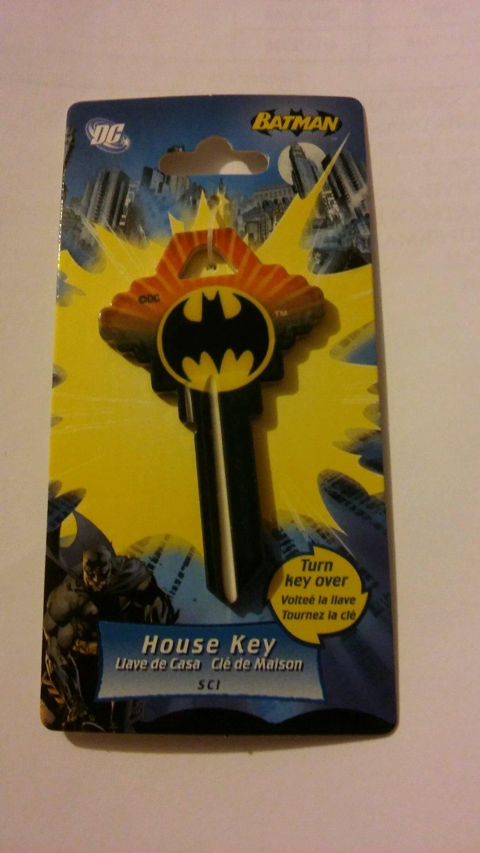 Key Blanks:Schlage Key Blanks- Bat Man