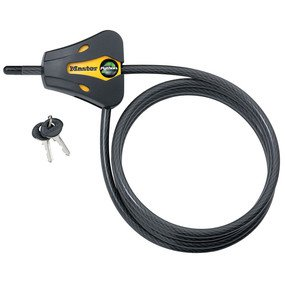 Cable Lock: Master Lock Model No. 8419DPF 6ft Python� Adjustable Locking Cable