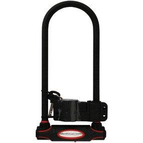 Bike Lock: Master Lock Model No. 8195DLW Hardened Steel U-Lock
