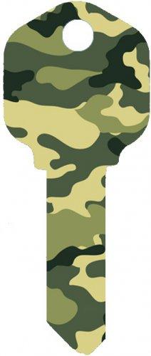 Key Blanks:Model: CAMOUFLAGE Key Blanks - Kwikset