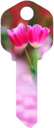 Key Blanks:Model:-TULIP FLOWER Key Blanks - Schlage