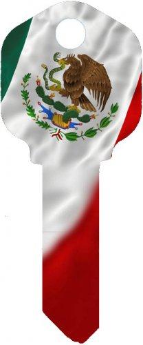 Key Blanks:Model:-MEXICAN FLAG Key Blanks - Kwikset