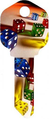Key Blanks:Model:-DICE Key Blanks - Kwikset