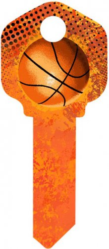 Key Blanks:Model BASKETBALL Key Blanks - Schalge
