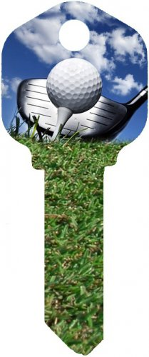 Key Blanks:Model GOLF Key Blanks - Schlage