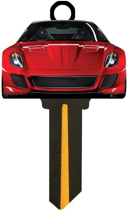 Key Blanks:Model 3D CAR Key Blanks - Schlage