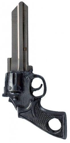 Key Blanks:Model 3D REVOLVER GUN Key Blanks - Schlage