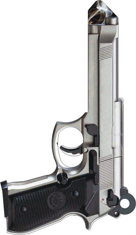 Key Blanks:Model 3D 45mm Gun Key Blanks - Kwikset
