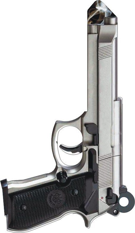 Key Blanks:Model 3D 45mm Gun Key Blanks - Schlage