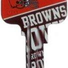 Key Blanks: Model: NFL - Cleveland Browns Key Blanks - Schlage