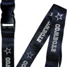 Key Accessories: Dallas Cowboys Blue Lanyard