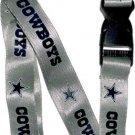 Key Accessories: Dallas Cowboys Silver Lanyard