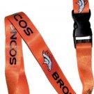Key Accessories: Denver Broncos Orange Lanyard