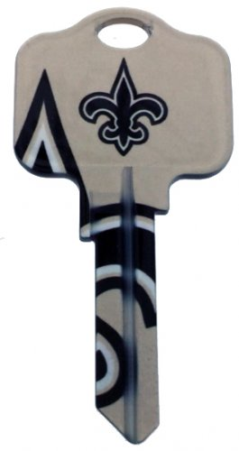 Key Blanks: Model: NFL - New Orleans Saints Key Blanks - Kwikset