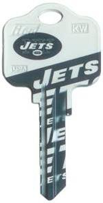 Key Blanks: Model: NFL - New York Jets Key Blanks - Kwikset