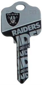 Key Blanks: Model: NFL - Oakland Raiders Key Blanks - Schlage