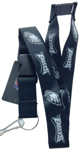 Key Accessories:Model: NFL -  Philadelphia Eagles Black Lanyard