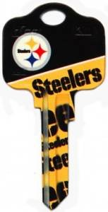 Key Blanks: Model: NFL - Pittsburgh Steelers Key Blanks - Schlage