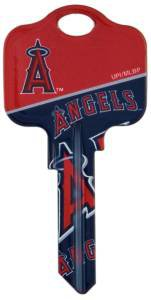 Key Blanks: Model: MLB -ANAHEIM ANGELS Key Blanks - Schlage
