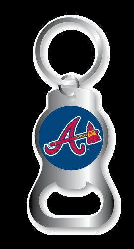 Key Chains: Model: MLB -ATLANTA BRAVES BOTTLE OPENER Keychain