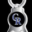 Key Chains: Model: MLB - COLORADO ROCKIES BOTTLE OPENER Keychain