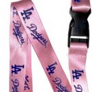 Key Accessories: Model: MLB - LOS ANGELES DODGERS PINK  Lanyard