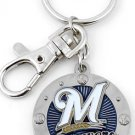 Key Chains:Model: MLB -  MILWAUKEE BREWERS Key Chain