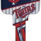 Key Blanks: Model: MLB -MINNESOTA TWINS Key Blanks - Kwikset