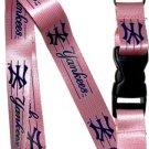 Key Accessories: Model: MLB - NEW YORK YANKEES PINK Lanyard