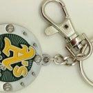 Key Chains:Model: MLB - OAKLAND ATHLETICS Key Chain