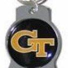 Key Chains: Model: NCAA - GEORGIA YELLOW JACKETS Bottle OPENER Keychain