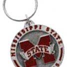 Key Chains: Model: NCAA - MISSISSIPPI BULLDOGS Key Chain