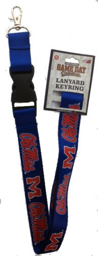 Key Accessories: Model: NCAA - MISSISSIPPI REBELS LANYARDS