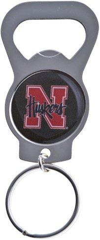 Key Chains: Model: NCAA - NEBRASKA CORNHUSKERS Bottle OPENER Keychain