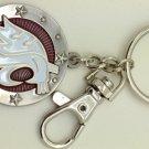 Key Chains: Model: NCAA - WASHINGTON STATE COUGARS Key Chain