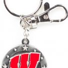 Key Chains: Model: NCAA -  WISCONSIN BADGERS Key Chain