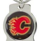 Key Chains: Model: NHL - CALGARY FLAMES Bottle OPENER Keychain