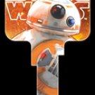 Key Blanks: Star Wars Rogue 1 - BB-8 Key Blanks - Kwikset