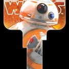 Key Blanks: Star Wars Rogue 1 - BB-8 Key Blanks - Weiser