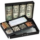 Safes: Master Lock Model No. 7147D Combination Locking Cash Box